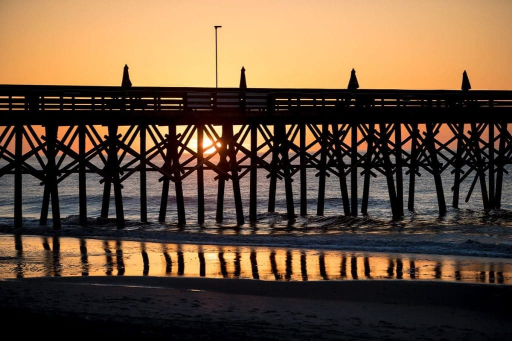 kara-gamber-beach-dock-photo-sunrise